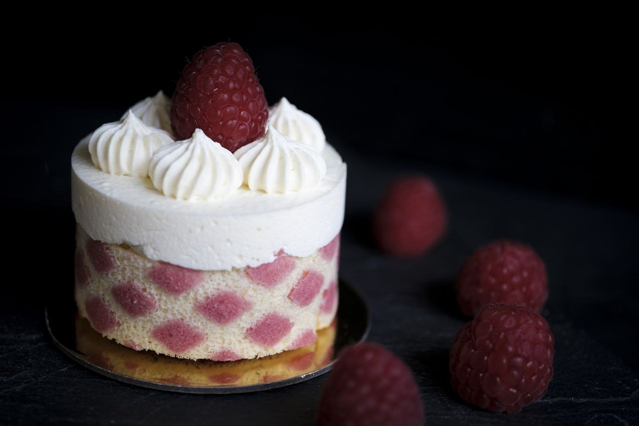 Vanille-Himbeer Buttercreme