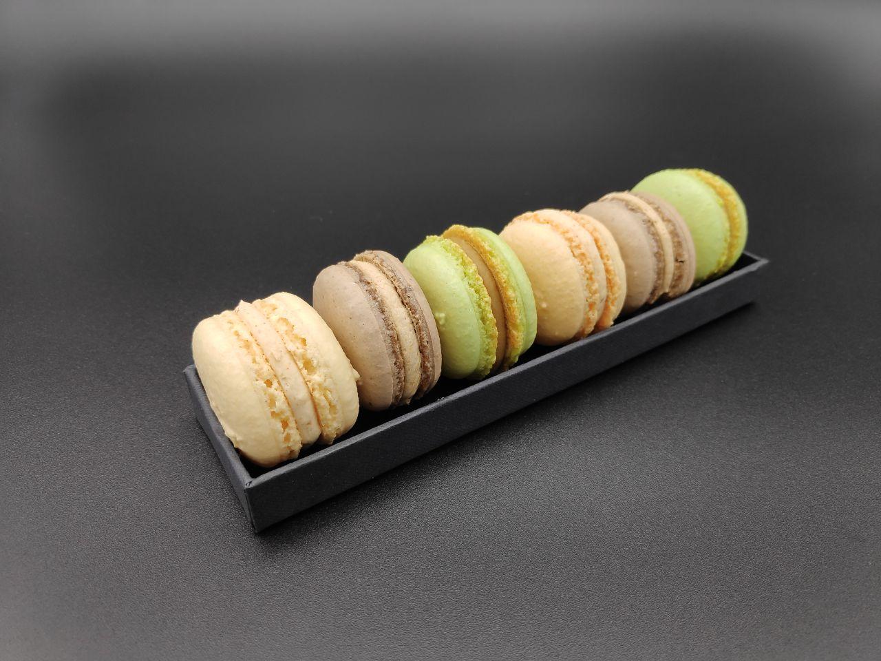 Macarons nussig